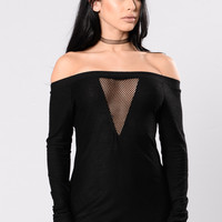 Stop This Top - Black