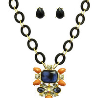 Adorn by LuLu- Meet Me At Midnight Necklace