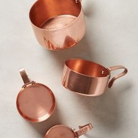 Russet Measuring Cups by Anthropologie in Copper Size: Measuring Cups Glassware