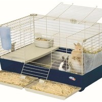 Marchioro Tommy Deluxe Quality Plastic Small Animal Cage with Pull-Out Drawers | www.hayneedle.com