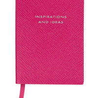 Smythson - Panama Inspiration and Ideas textured-leather notebook