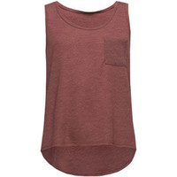 FULL TILT Essential Girls Hachi Pocket Tank | Tanks & Camis