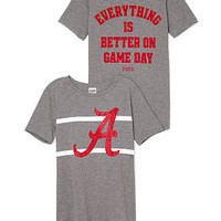 University of Alabama Bling Perfect Legging Tee - PINK - Victoria's Secret