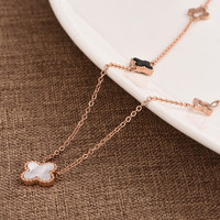 Women Gold Pendant Necklace Jewelry Accessories Collarbone Chain _ 8477