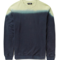 Raf Simons - Dip-Dye Loopback Cotton Sweatshirt | MR PORTER