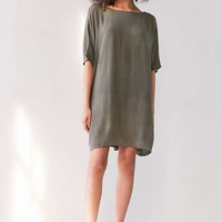 Silence + Noise Gauzy Woven Cocoon Dress - Urban Outfitters