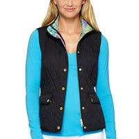 Lilly Pulitzer Getaway Quilted Vest