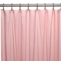 "Royal Bath Heavy 4 Gauge Vinyl Shower Curtain Liner with Weighted Magnets and Metal Grommets (72"" x 72"") - Pink"