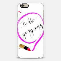 Hello Gorgeous iPhone 6 case by Talula Christian   Casetify