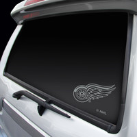 Detroit Red Wings Chrome Window Graphic Decal