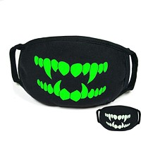 Glow in the Dark Face Mask