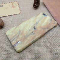 Yellow marble stripes Phone Case Cover for Apple iPhone 7 7 Plus 5S 5 SE 6 6S 6 Plus 6S Plus + Nice gift box! LJ160926-004