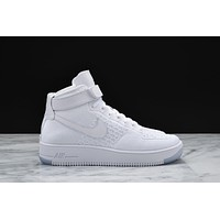 AIR FORCE 1 ULTRA FLYKNIT MIDWHITE / WHITE AF1