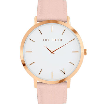 The fifth brand mesh watch simplicity classic wrist watch Fashion Casual Quartz Wristwatch high quality women watches