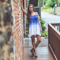 Independence Day Ombre Sundress