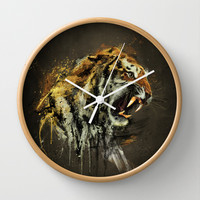 Ty-Ga Wall Clock by Emiliano Morciano (Ateyo)