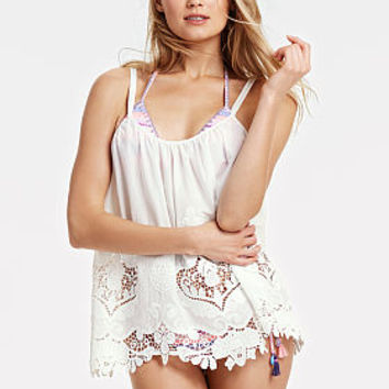 Embroidered Cover-up Tank - Victoria's Secret