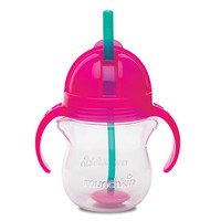 Munchkin Click Lock 7-Ounce Weighted Straw Flexi Cup - Pink