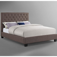 Lorien Upholstered Low Profile Bed
