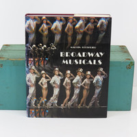Broadway Musicals 1980 Martin Gottfried Large Vintage Coffee Table Book 1980