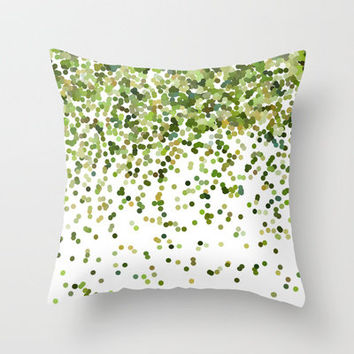 Keep on Falling Throw Pillow by Beth Thompson   Society6