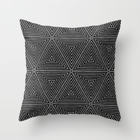 cubes Throw Pillow by SpinL