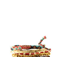 Multi Rope and Chain Bracelets