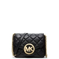 Fulton Quilted-Leather Crossbody   Michael Kors