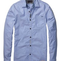 Damaged And Repaires Oxford Shirt - Scotch & Soda