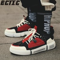 ECTIC Autumn high top star shoes men luxury brand sneakers designer kanye west casual shoes hip hop shoes zapatos hombre DP-95