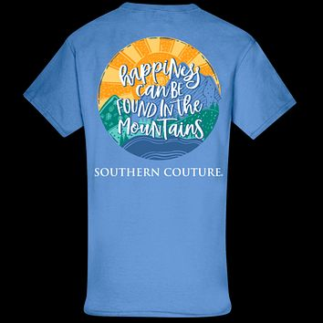 Southern Couture Classic Happiness in Mountains T-Shirt