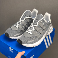 HCXX 19July 187 Adidas Yeezy Boost 600 Lxcon Sneakers Mesh Breathable Running Shoes grey
