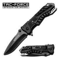 Grey Tactical Spring Assisted Knife