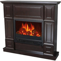 """Walmart: Electric Fireplace with 44"""" Mantle"""