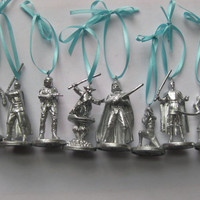 Silver Star Wars Ornaments (set of 5) REDUCED SHIPPING