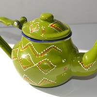 drawn teapot