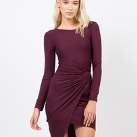 Side Knotted Dress