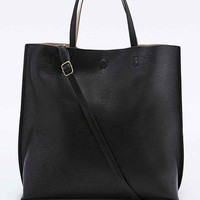 Oversized Vegan Leather Tote Bag - Urban Outfitters