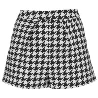 Houndstooth Pleat Shorts - Sale - Sale & Offers - Topshop USA