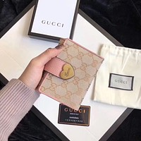 GUCCI GG card case wallet