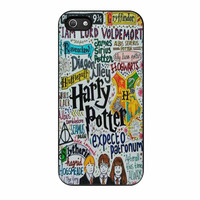Harry Potter Expecto Patronum Quotes iPhone 5s Case