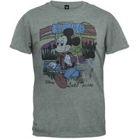 Mickey Mouse - Hiking Soft T-Shirt