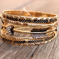 Arrow Bangle Set - New Arrivals