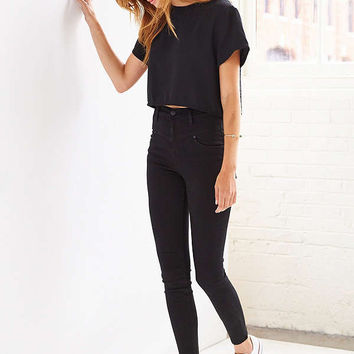 BDG Seamed High-Rise Jean - Black   Urban Outfitters