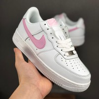 Nike Air Force 1 07 Low White Pink Women Casual Shoes