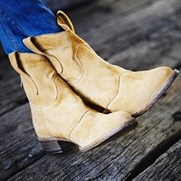 + Free People Womens Watercolor Ankle Boot -
