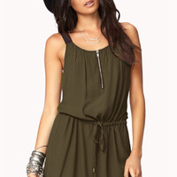 Everyday Georgette Shift Dress | FOREVER 21 - 2000051671