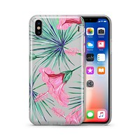 Exotic Hibiscus - Clear TPU - iPhone Case