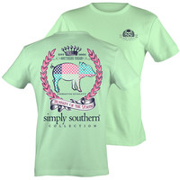 Simply Southern Royalty Of The South Preppy Pig T-shirt