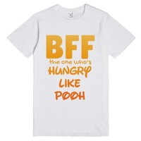 Bff The One Who's Hungry T-shirt - Cartoon Character Series (idb110...